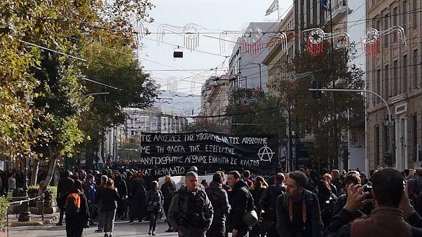 Επέτειος Γρηγορόπουλου: Ολοκληρώθηκε  η πορεία μνήμης των μαθητών