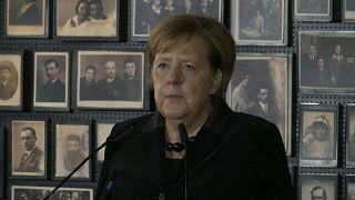 Ангела Меркель посетила Освенцим