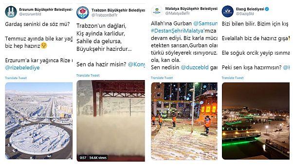 Belediyelerin sosyal medyadaki sohbeti