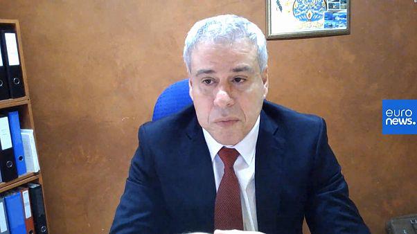 """الهاشمي بلحسين محام جزائري مقيم في سويسرا ورئيس منظمة """"جزائريون بلا حدود"""""""