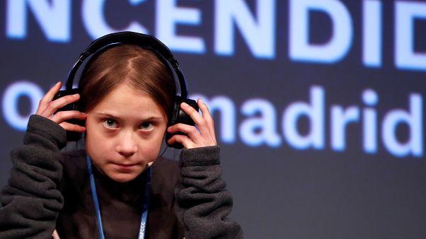 İsveçli 16 yaşındaki iklim aktivisti Greta Thunberg