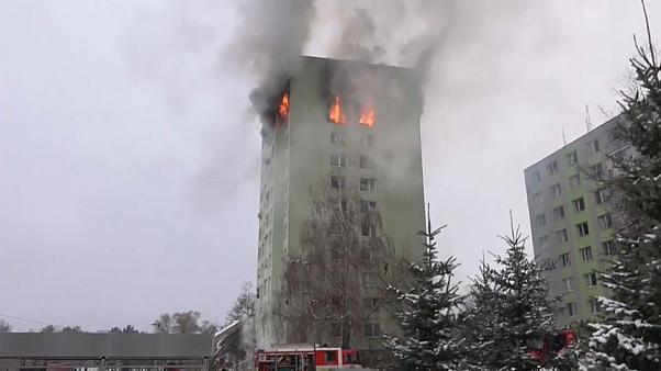 انفجار بر اثر نشت گاز در پرشف اسلواکی ۷ کشته و دهها زخمی برجای گذاشت
