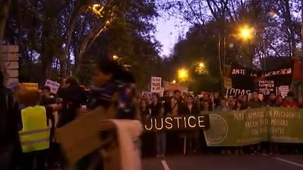 Thousands protest in Madrid for more action against climate change