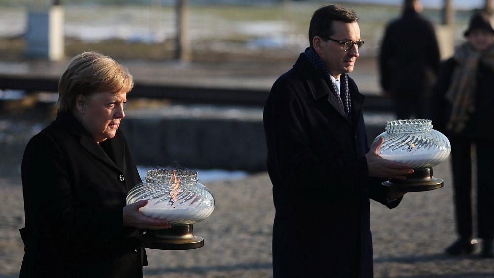 Auschwitz'i ziyaret eden Merkel: Derin bir utanç duyuyorum