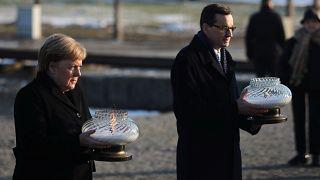 Almanya Başbakanı Angela Merkel Auschwitz'i ilk kez ziyaret etti: Derin bir utanç duyuyorum