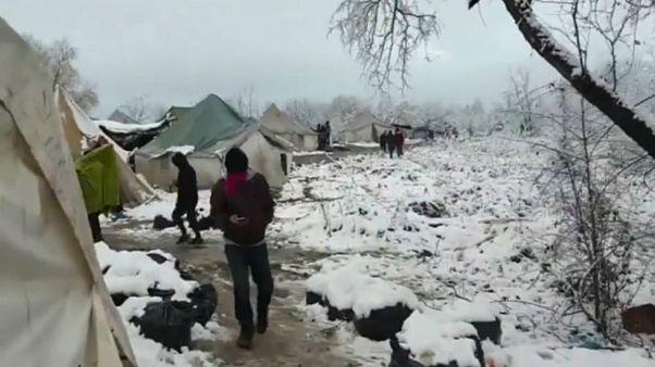 اعتصاب غذای پناهجویان اردوگاه جنگلی «ووچیاک» در بوسنی و هرزگوین