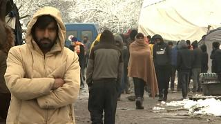 Морозы ударили по мигрантам