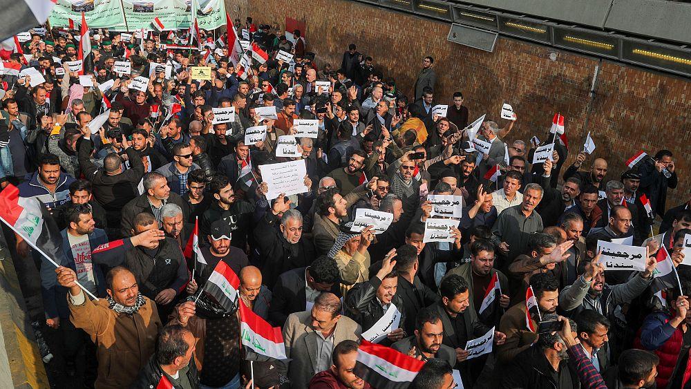 Irak'ta göstericilere ateş açıldı: En az 8 ölü 20'den fazla yaralı