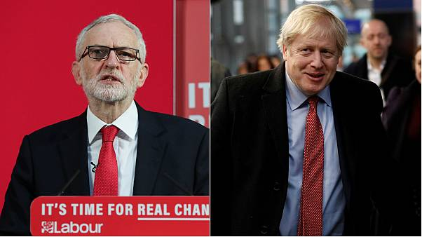 Jeremy Corbyn (left) and Boris Johnson (right) will go head to head in the leaders' debate