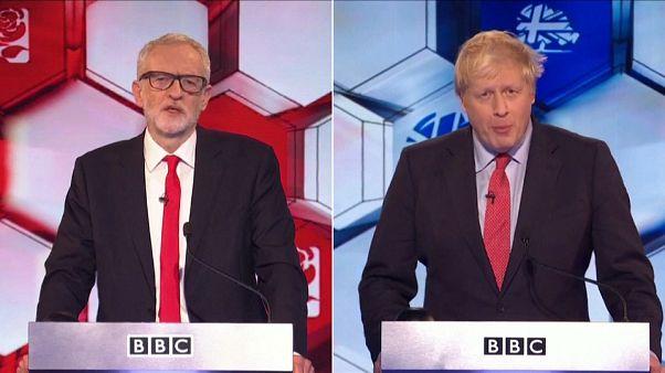 Ultime duel sans surprise entre Corbyn et Johnson avant les législatives