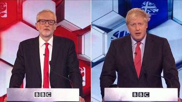 Johnson gegen Corbyn: Duell mit großen Worten