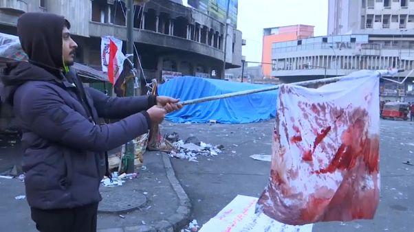 Trotz Blutvergießen: Irakische Demonstranten geben nicht auf