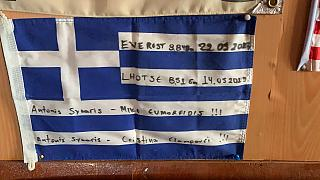 Αντώνης Συκάρης: Με το βλέμμα στην κορυφή του Εβερεστ