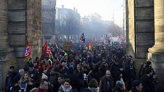 How successful was the December 5th strike in France?