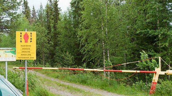 گذرگاهی در مرز روسیه و فنلاند