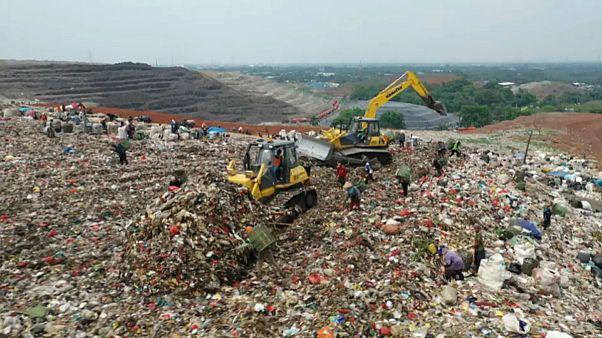 ویدئو؛ ارتباط انباشت زباله با انتشار گاز متان چیست؟