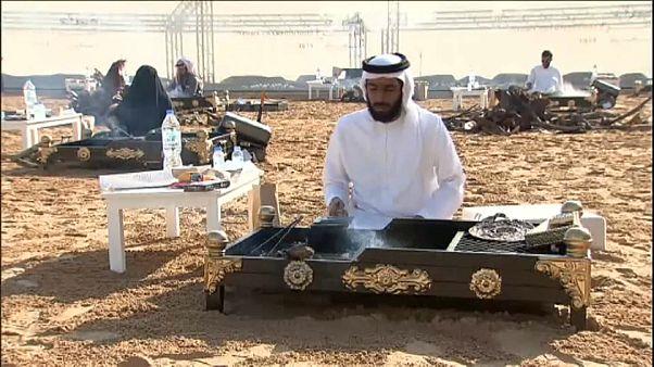 شاهد: أول بطولة في العالم للمنافسة في إعداد القهوة في أبوظبي
