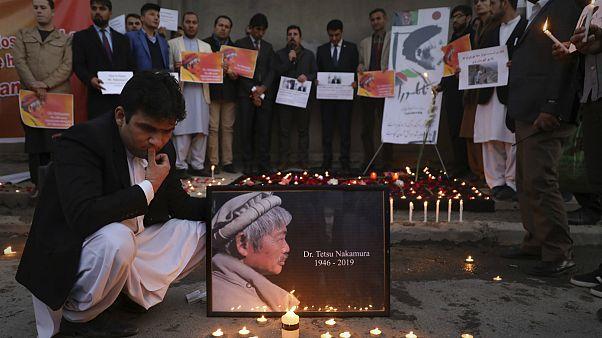 وداع با پیکر پزشک فداکار ژاپنی در افغانستان