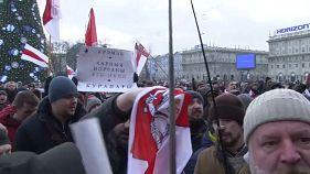 Protesta a Minsk contro la definitiva integrazione di Bielorussia e Russia