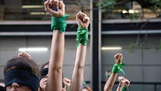 Αργεντινή: Διαδήλωση γυναικών κατά της βίας