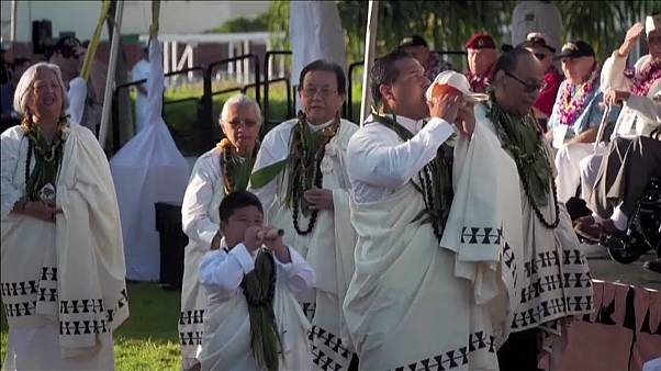 Pearl Harbor : cérémonie du souvenir 78 après le bombardement japonais