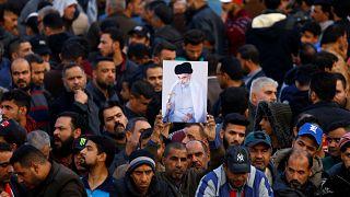 Halomra ölik a tüntetőket Irakban