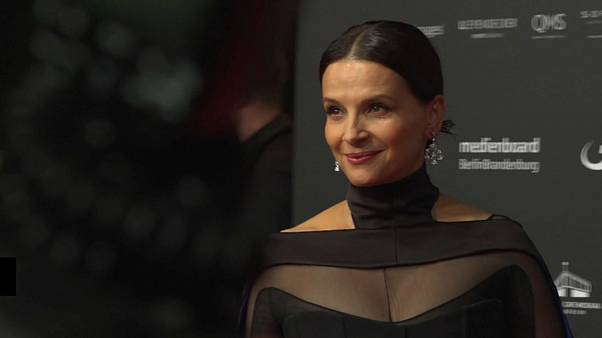 French actress Juliette Binoche celebrated at European Film Awards