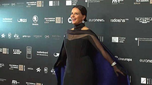 Avrupa Film Ödülleri'nde Juliette Binoche'a çifte armağan