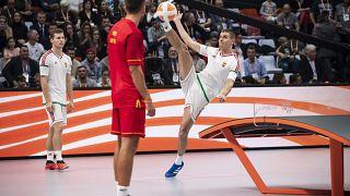Magyar győzelemmel zárult a budapesti teqball-világbajnokság