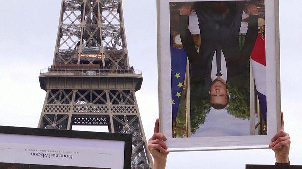 اعتراض فعالان محیط زیست فرانسه به دولت امانوئل ماکرون