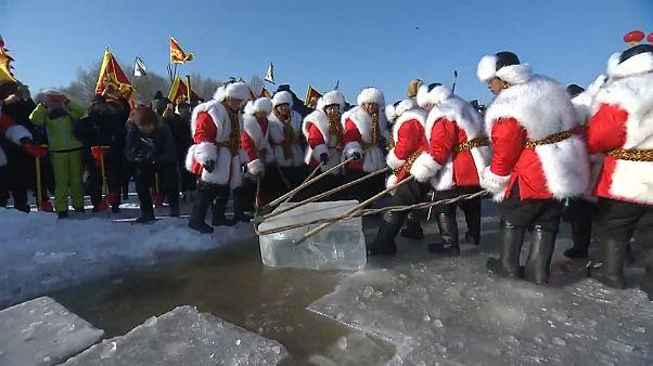 120 ezer köbméter jégből épül a téli mesevilág
