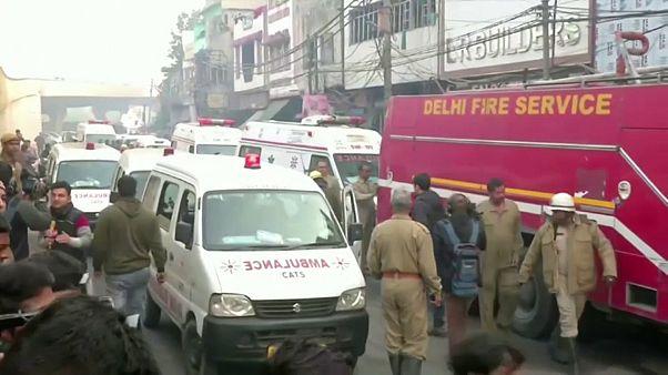 Mindestens 43 Tote bei Brand in Handtaschenfabrik