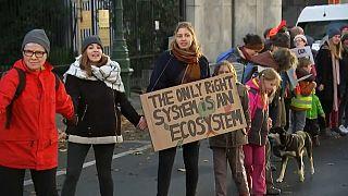 COP25: Klimaaktivisten machen weltweit Druck