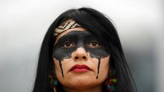 COP25: Proteste gegen Ölpest in Brasilien