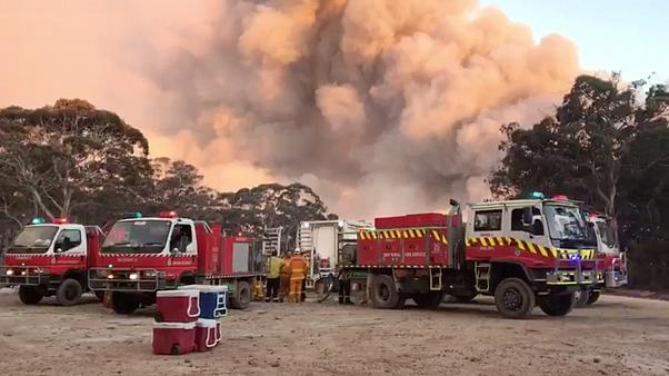 Αυστραλία: Eφιαλτικό σκηνικό από τις πυρκαγιές