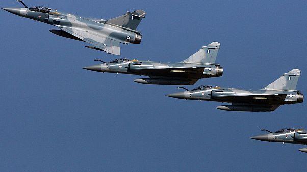 Yunan Mirage jetleri