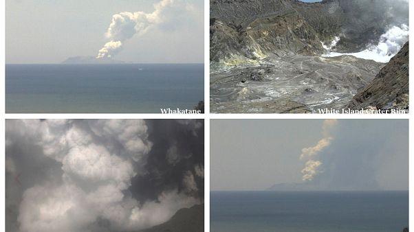 Kitört a Whakaari vulkán Új-Zélandon