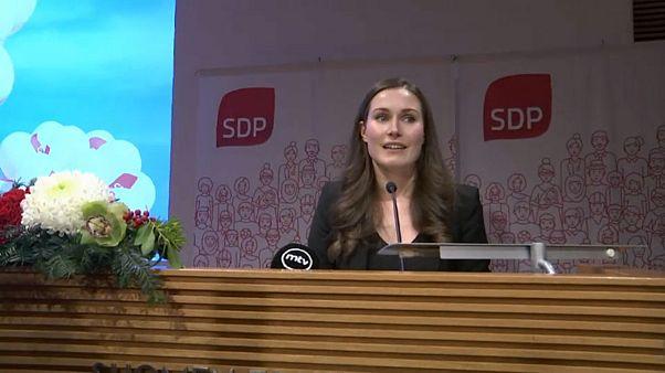 A 34 ans, Sanna Marin devient la plus jeune Première ministre finlandaise