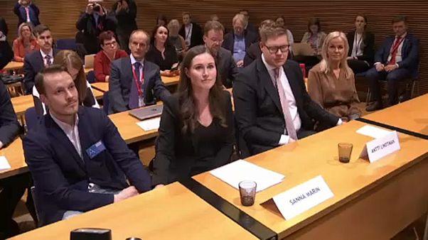 Finlandiya'da Sanna Marin dünyanın en genç kadın başbakanı seçildi
