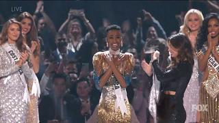 Miss South Africa wins Miss Universe competition