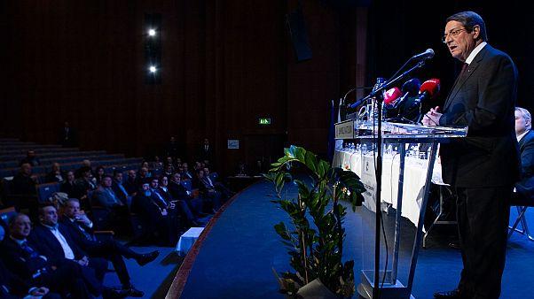 Ο Πρόεδρος της Δημοκρατίας κ. Νίκος Αναστασιάδης στην ετήσια Γενική Συνέλευση της Ένωσης Δήμων