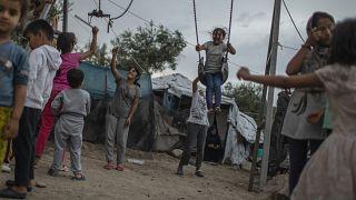 Μόρια: Μαζικός εμβολιασμός προσφυγόπουλων