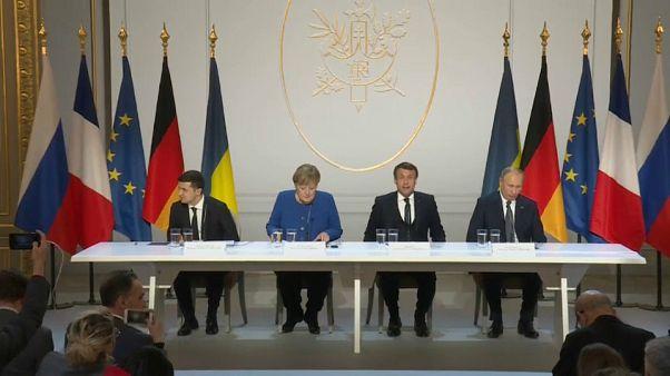 Putin e Zelensky acordam cessar-fogo