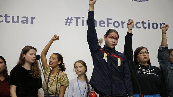 """Greta Thunberg cede el protagonismo a """"los otros jóvenes"""" de la COP25"""