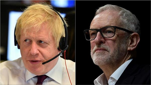 Boris Johnson und Jeremy Corbyn