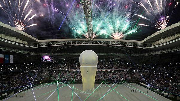 FIFA 2022 icin Katar'ın yeni inşa ettiği stadyum