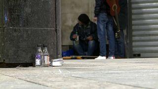 Будапештских бездомных зовут в ночлежки
