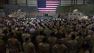 Başkan Trump Afganistan'da