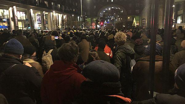 Több ezren tüntettek a kultúra függetlenségéért Budapesten