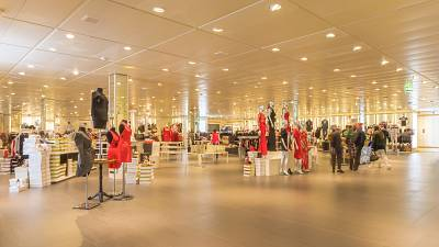 Cut-price designer shop catering to boom in demand for green fashion